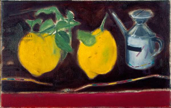 Sicilian Lemons, 2001 (oil on canvas)