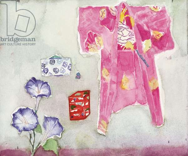 Kimono (pencil & w/c on paper)