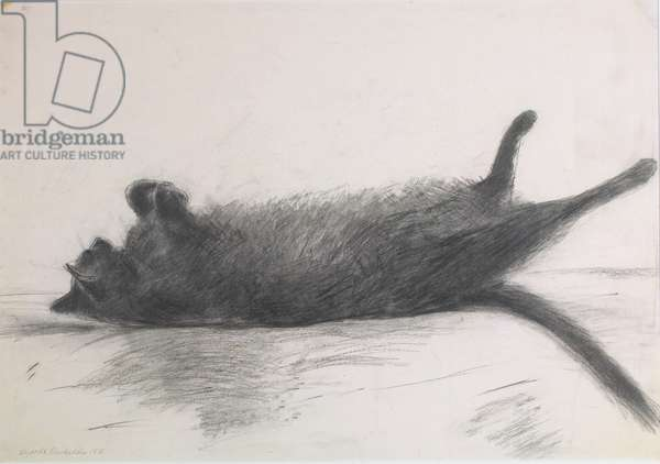 Amalia Sleeping, 2004 (etching)