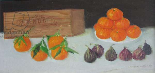 Clementines & Figs - Krug, 2004 (oil on canvas)