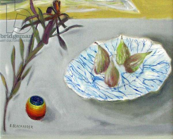 Gillies' Plate (oil on canvas)