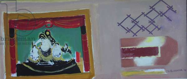 Sumo Wrestlers, 2004 (oil on canvas)