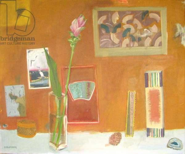 Oriental Still Life with Curcuma, 2008 (oil on canvas)