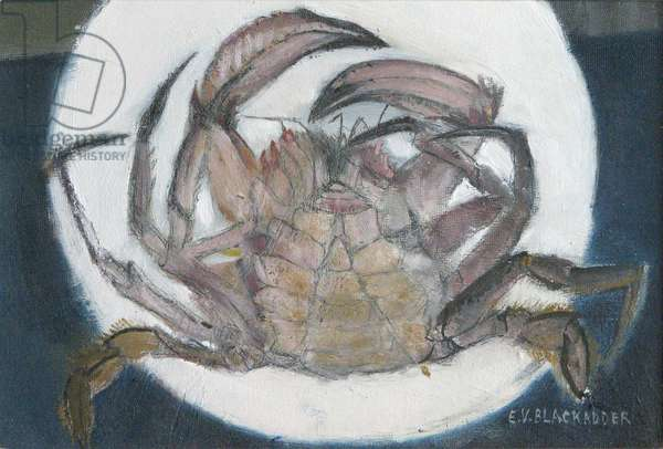 Little Crab I (oil on board)