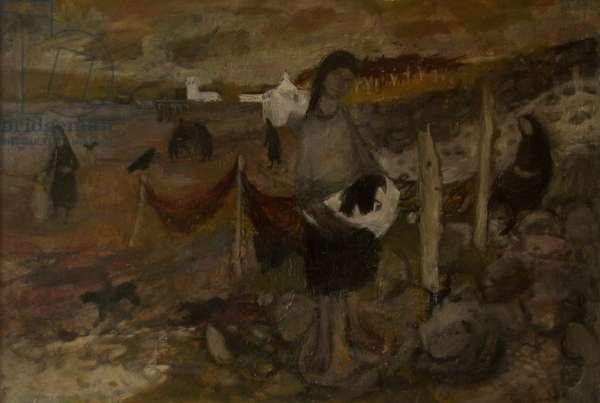 Memories of Dunoon, 1954 (oil on board)