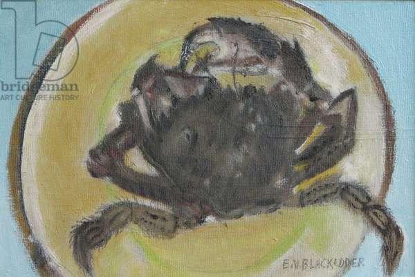 Little Crab II, 2009 (oil on canvas board)