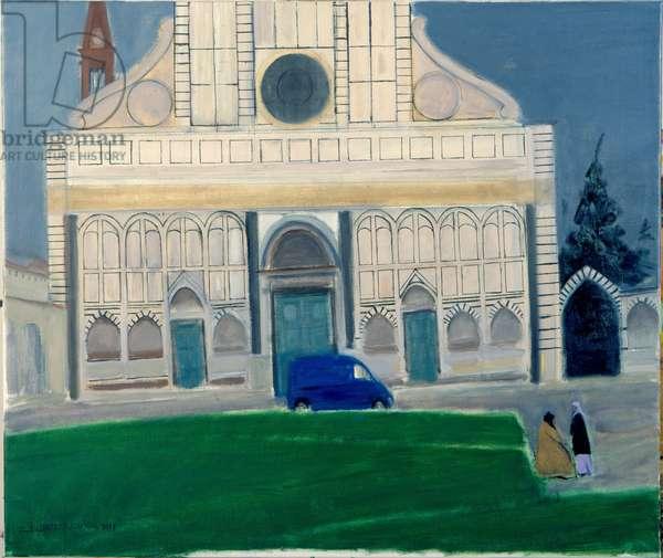 Santa Maria Novella, Florence (oil on canvas)