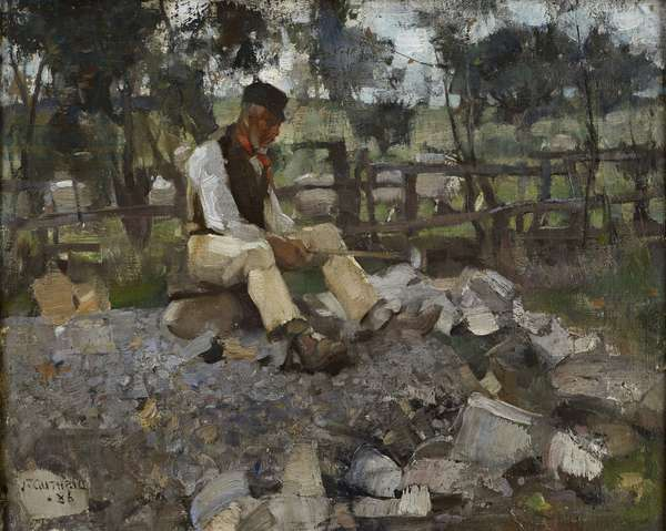 The Stone Breaker, 1886 (oil on canvas)