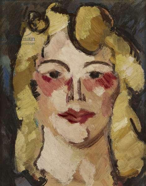 Kate Dillon, c.1916 (oil on board)