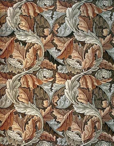 Acanthus Wallpaper, designed by William Morris (1834-96)