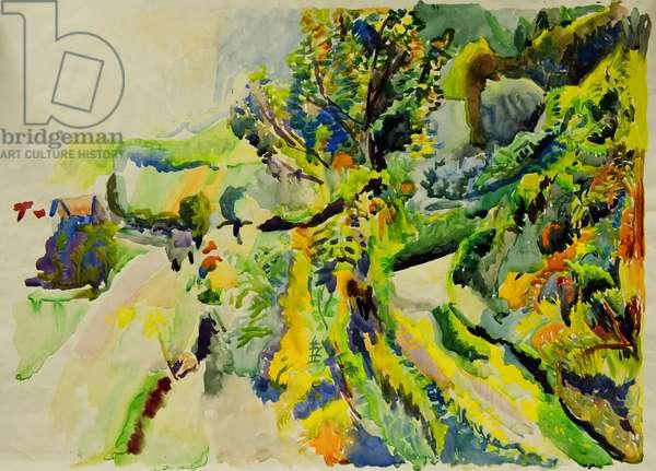 Garden (w/c on paper)