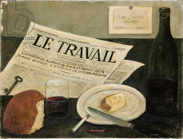 Le Travail, 1933 (oil on canvas)