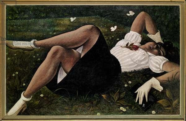 Summer, 1945-66 (oil on canvas)