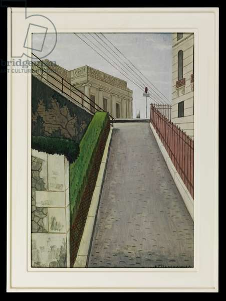 Eynard Palace, 1960 (oil on canvas)
