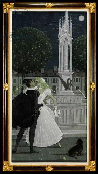 Roméo et Juliette, 1960 (oil on canvas)