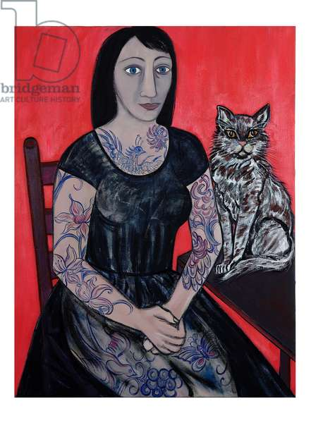 Kitty and Rose, 2007 (oil on canvas)