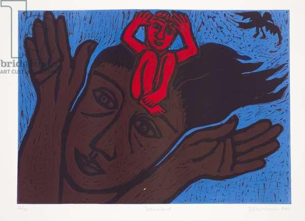 Dreamland, 1992 (linocut)