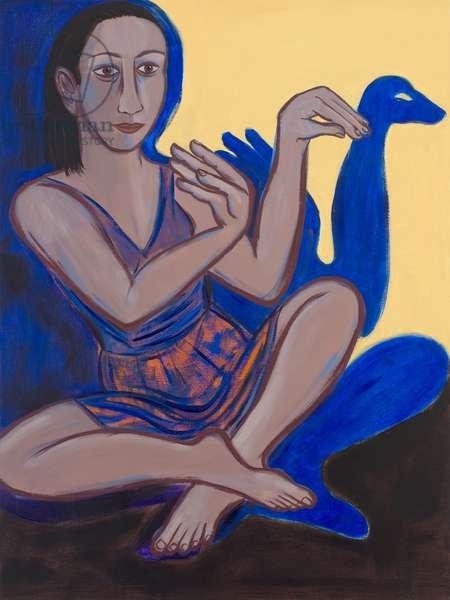 Swan, 2012 (oil on canvas)