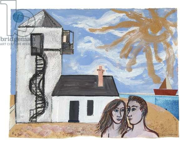 Aldeburgh, 2012 (collage)