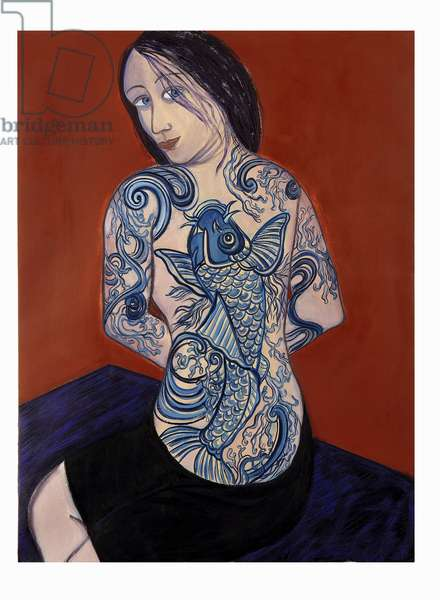 Mermaid, 2007 (oil on canvas)