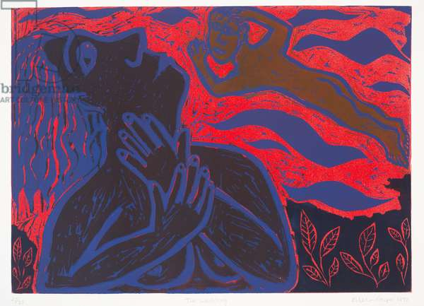 The Wedding, 1992 (linocut)
