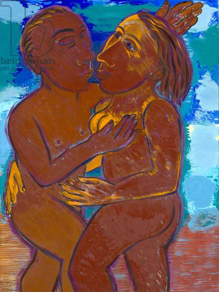 Amour, 1997 (oil on canvas)