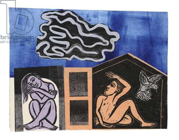 Alayrac, 2012 (collage)