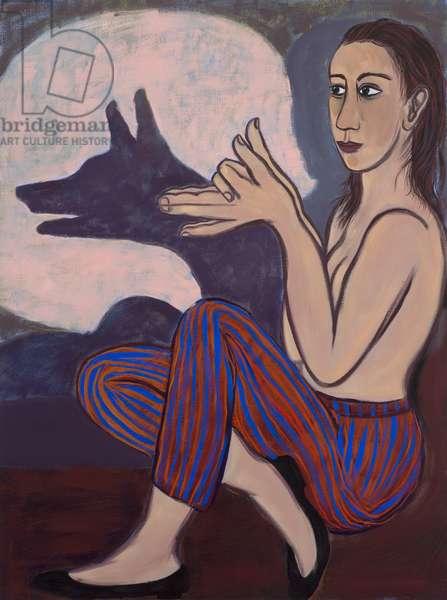 Shadow Fox, 2012 (oil on canvas)