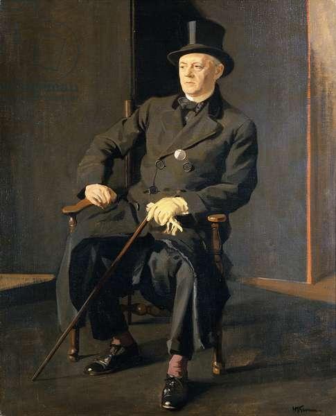 Portrait of James Pryde (1866-1941) c.1931 (oil on canvas)