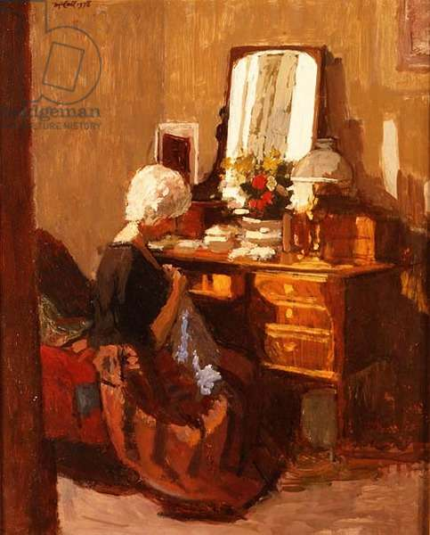 At the Dressing Table