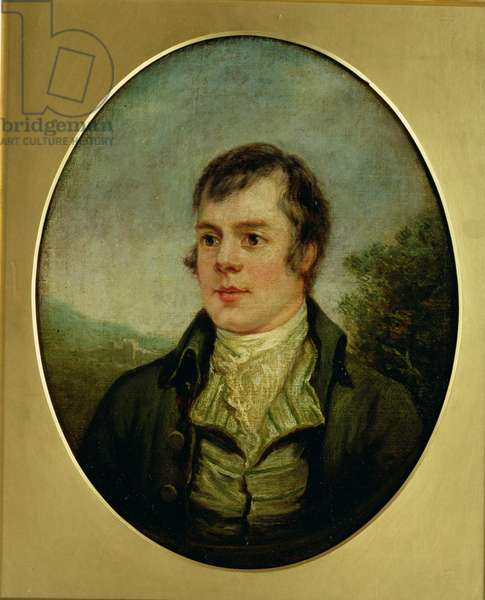 Robert Burns (oil on canvas)