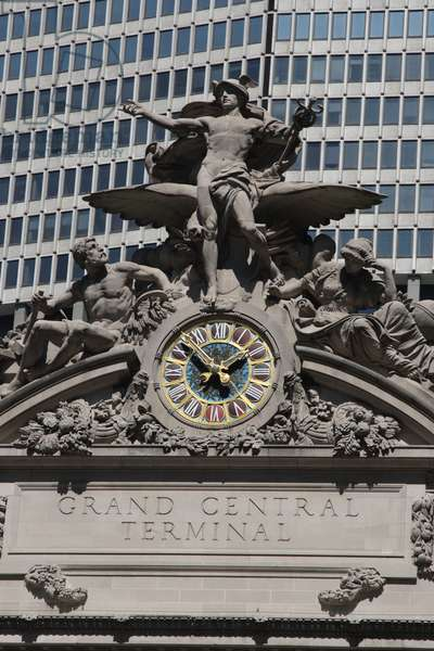 The Clock of Grand Central Station (photo)