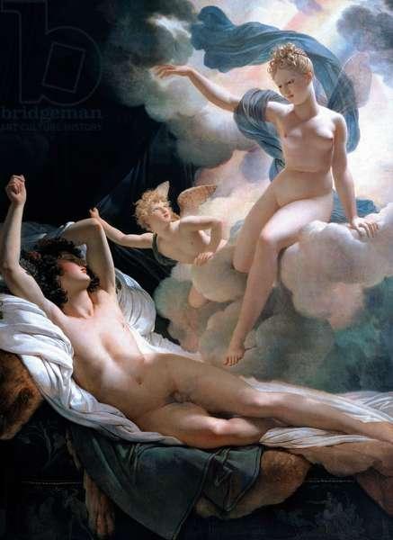 Morpheus and Iris, 1811 (oil on canvas)
