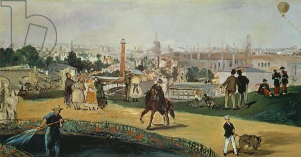 The Exposition Universelle, 1867 (oil on canvas)
