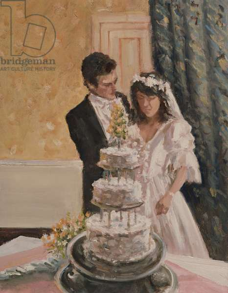 The Wedding Cake (oil on canvas)