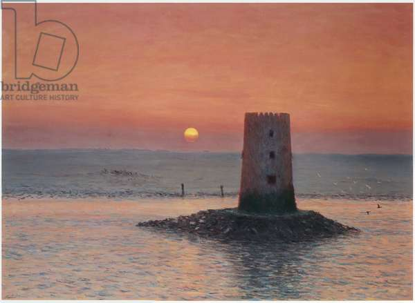 Mugta Tower (oil on canvas)