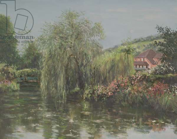 Giverny, Springtime (oil on canvas)