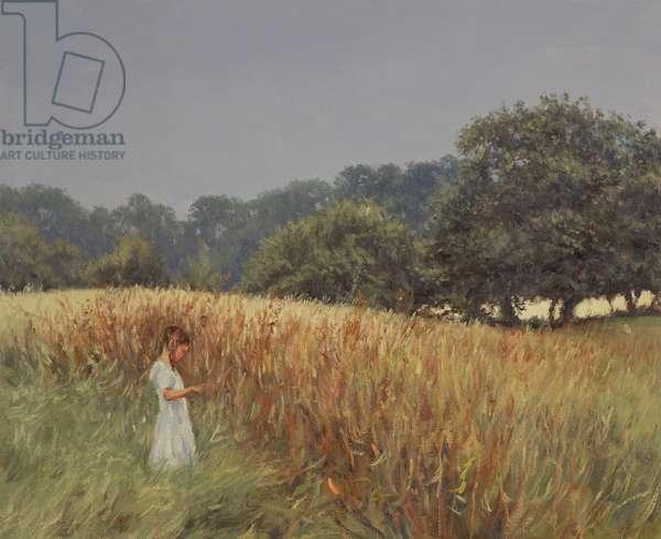 The Ladybird (oil on canvas)