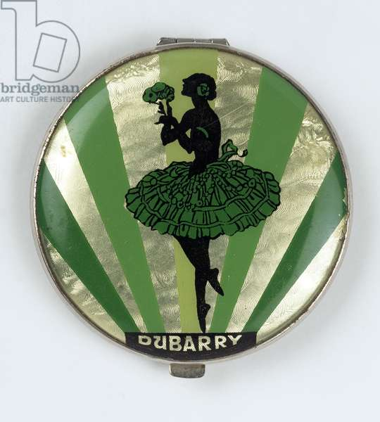 Ballerina Powder Compact, made by Dubarry, 1920-30