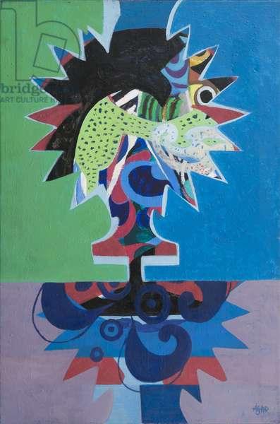 Bird Man,  1982 (acrylic on canvas)