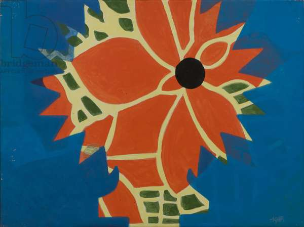 Flower (Bold), 1982 (acrylic on canvas)