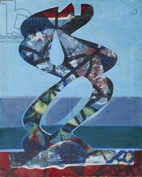 DNS Figure, 1968 (acrylic on canvas)