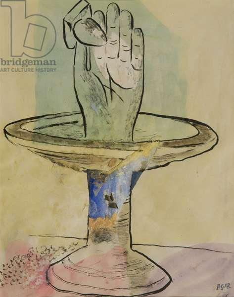 Untitled (Hand), 1936 (w/c on paper)