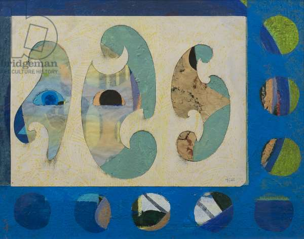 Architectural Eyes, 1968 (collage on paper)