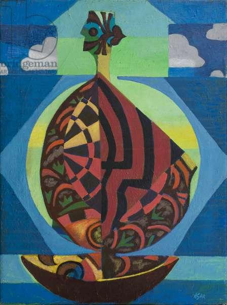 Cockleshell, 1982 (acrylic on canvas)