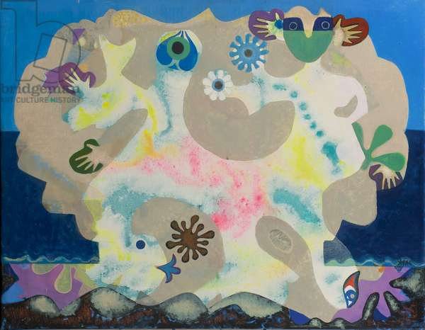 Sea Dance for a Child, 1978 (acrylic on canvas)