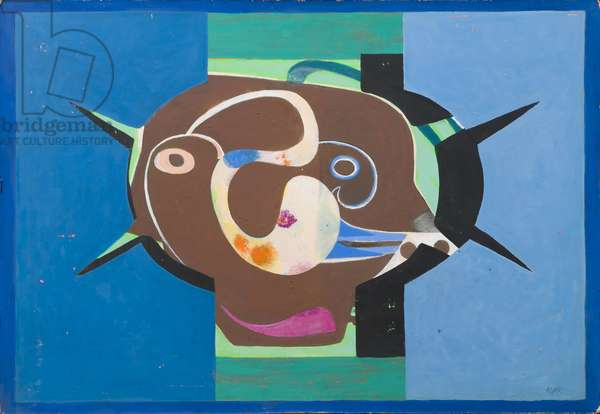 Man of War, 1973 (acrylic on canvas)
