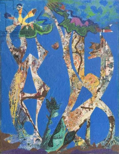 Centaurs, 1962 (oil on canvas)