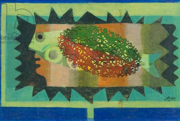 Ondine, 1972 (acrylic on canvas)