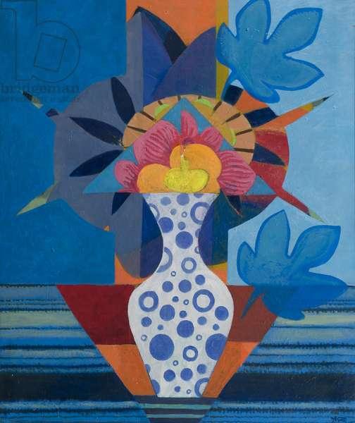 Flower Piece, 1978 (acrylic on canvas)